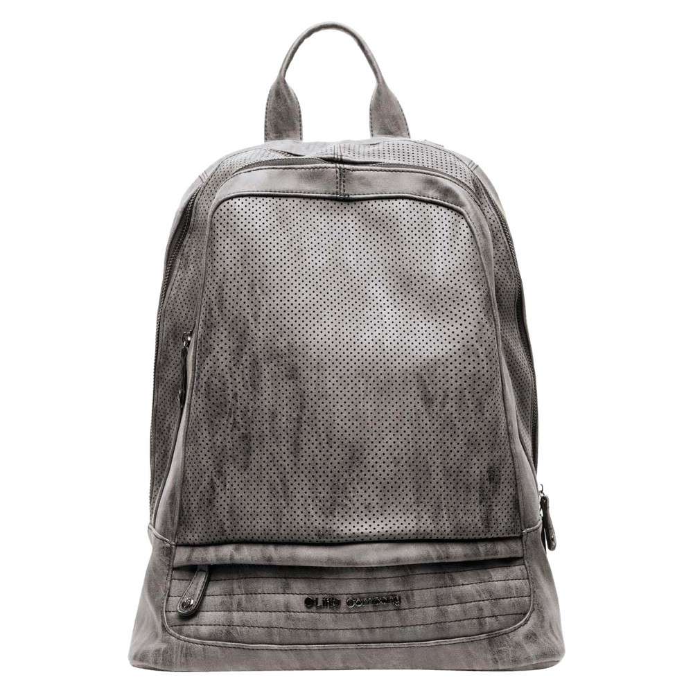 Little Company Stockholm Performance Diaper Backpack - Gray, Black