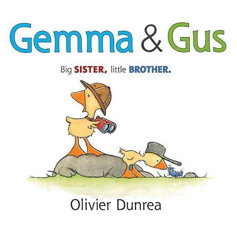Gemma & Gus - (Gossie & Friends) by  Olivier Dunrea (Hardcover) - image 1 of 1