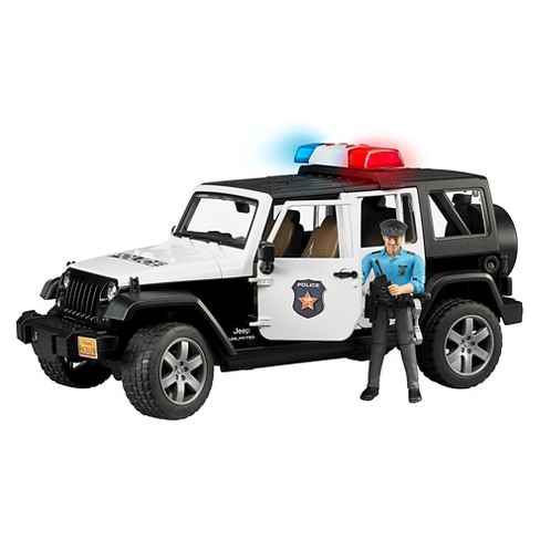 Jeep Rubicon Police car with Policeman - image 1 of 1