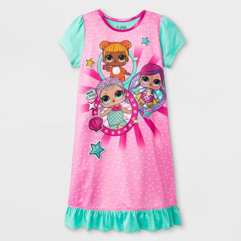 Girls' L.O.L. Surprise! Nightgown - Pink 10