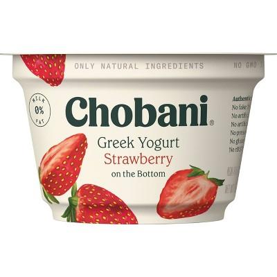 Chobani Strawberry on the Bottom Nonfat Greek Yogurt - 5.3oz