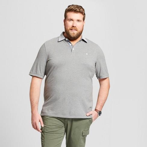 79b10d7d61f Men's Big & Tall Short Sleeve Polo Shirt - Goodfellow & Co™ : Target
