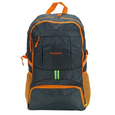 Rockland 19'' Packable Stowaway Backpack - Charcoal