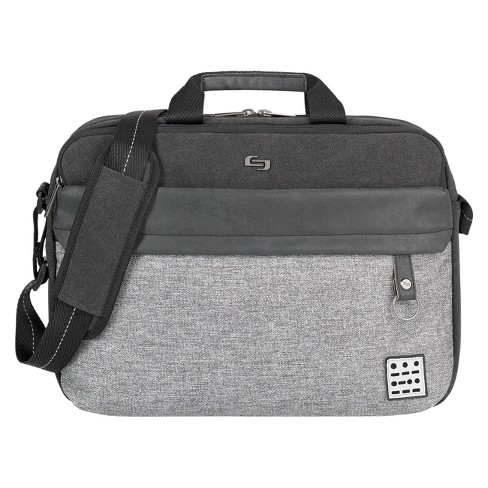 "Solo Venture 15.6"" RFID Briefcase - Gray/Black - image 1 of 6"