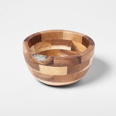 Round Acacia Wooden Serving Bowl - Small - Threshold™