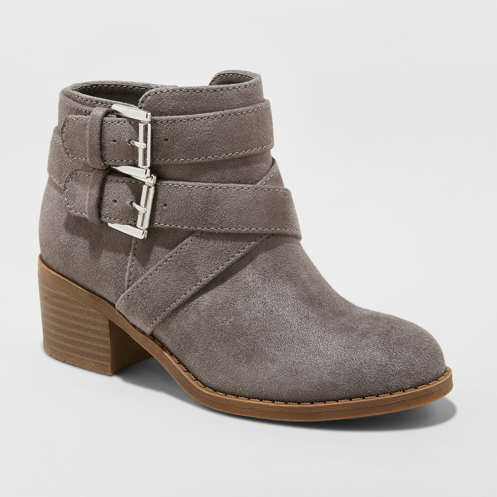 Girls' Maeko Buckle Boots - art class Gray 5