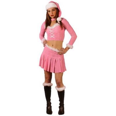 Fun World Pink and White Santa's Little Helper Adult Women's Christmas Costume - Medium