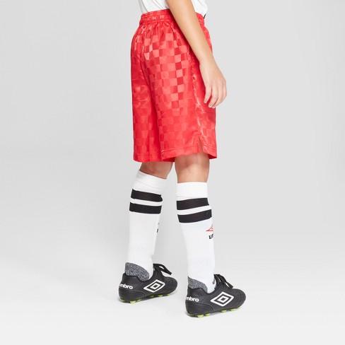 dfd94b6023 Umbro Boys' Checkerboard Shorts - Red XL : Target