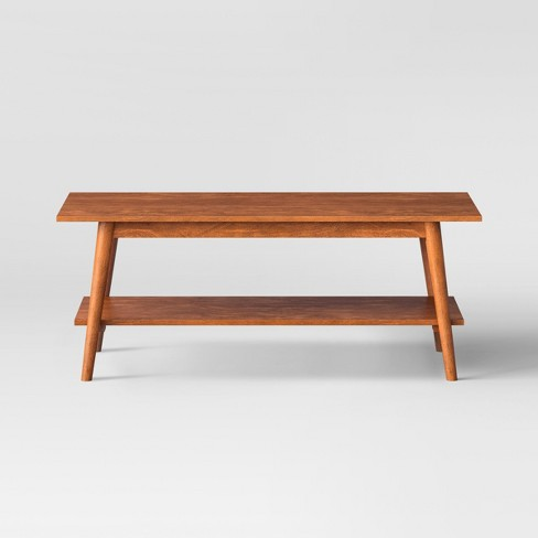 Amherst Mid Century Modern Coffee Table Brown - Project 62™ - image 1 of 5