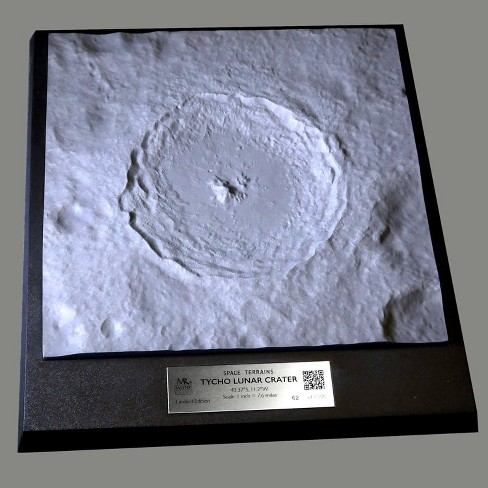 Master Replicas Space Terrains Tycho Crater Aerospace Replica - image 1 of 4