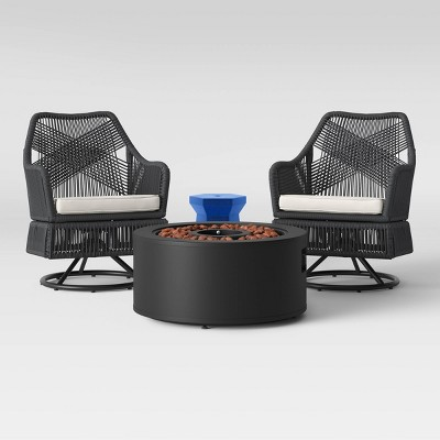 Martin Swivel Patio Fire Seating Set - Project 62™