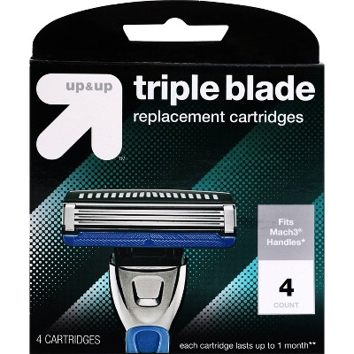 Men's Triple Blade Replacement Cartridges - up & up™