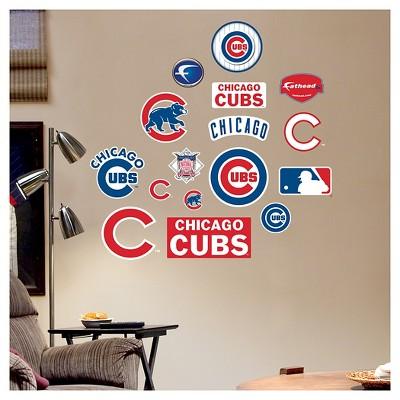 Decorative Wall Art Set Fathead 40 X 3 X 3 Chicago Cubs