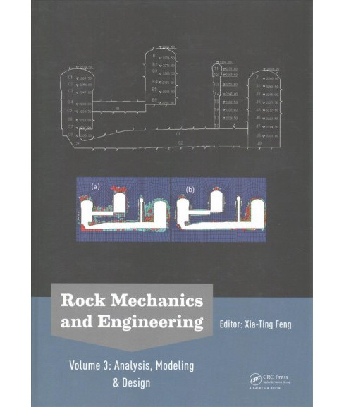 Rock Mechanics and Engineering : Analysis, Modeling & Design -   Book 3 (Hardcover) - image 1 of 1