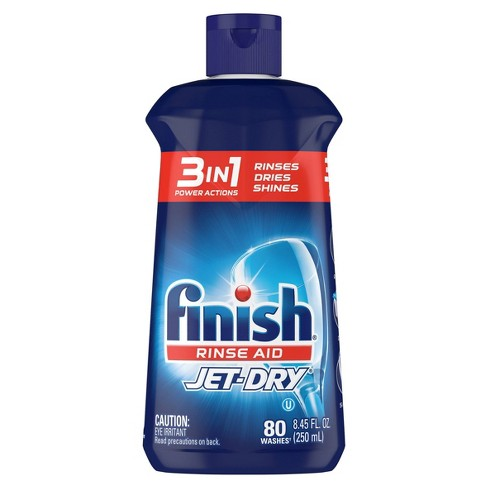 Finish Jet-Dry Rinse Aid, Dishwasher Rinse & Drying Agent - image 1 of 4