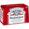 Budweiser Lager Beer - 18pk/12 fl oz Bottles - image 3 of 4