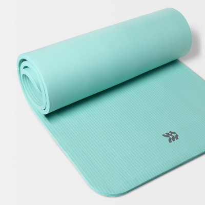 Premium Fitness Mat 15mm Blue - All in Motion™