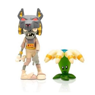 "The Zoofy Group LLC Plants Vs Zombies 3"" Figure 2-Pack: Tomb Raiser Zombie & Bloomerang"