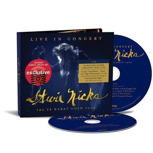 Stevie Nicks - Live in Concert: The 24 Karat Gold Tour (Target Exclusive, CD) - image 1 of 1