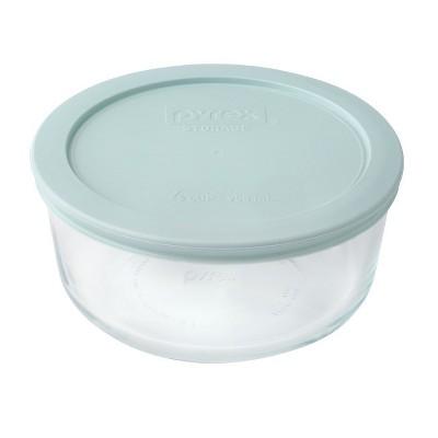 Pyrex Round Storage 4 Cup Sea Green
