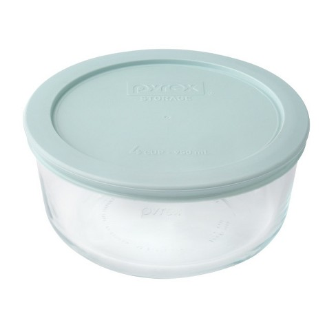 Pyrex Round Storage 4 Cup Sea Green - image 1 of 1