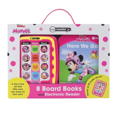 Disney Minnie Mouse Electronic Me Reader Jr. 8 Book Library Boxed Set