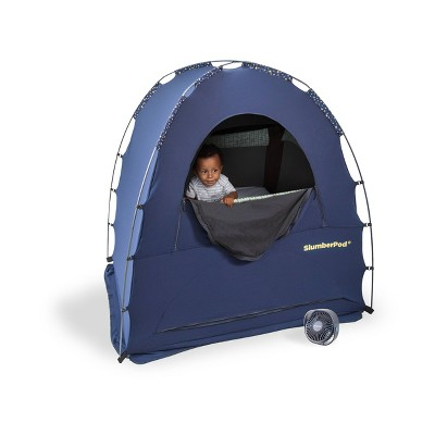 SlumberPod Privacy Canopy with Fan
