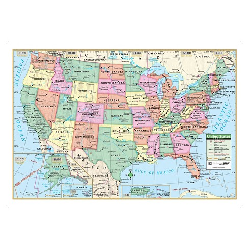 United States Map Pics.Kappa Map United States Wall Map 40 X 28 Target
