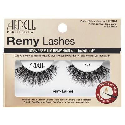 Ardell False Eyelashes Remy 782 Lash Black - 1pr