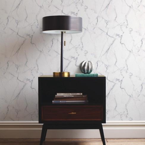 Carrara Marble Peel Stick Wallpaper Roommates Target