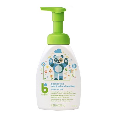 Babyganics Fragrance Free Hand Sanitizer - 8.45 fl oz