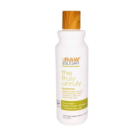 Raw Sugar Truly Unruly Shampoo Avocado + Apple Cider Vinegar + Rosemary Oil - 18 fl oz - image 1 of 4