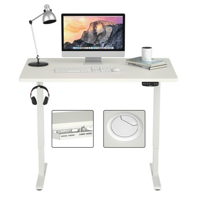 Costway Electric Standing Desk Sit to Stand Height Adjustable Dual Motor