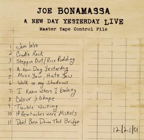 Joe bonamassa - New day yesterday live (CD) - image 1 of 1