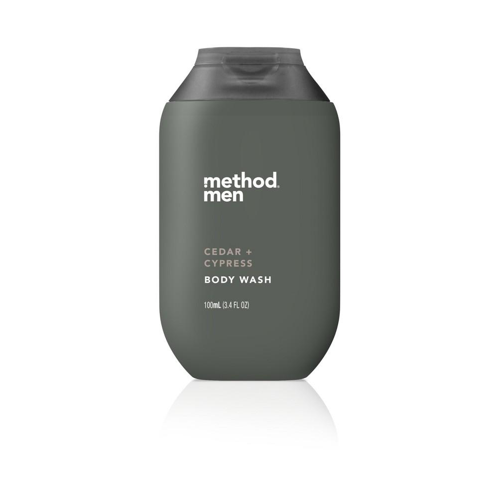 Method Cedar and Cypress Men's Trial Size Body Wash - 3.4oz