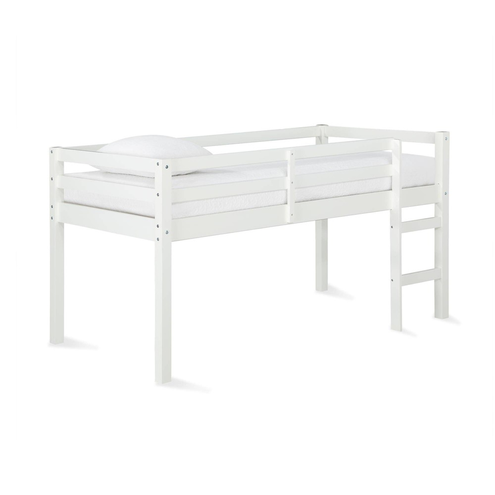 Twin Jayla Loft Bed White - Dorel Living