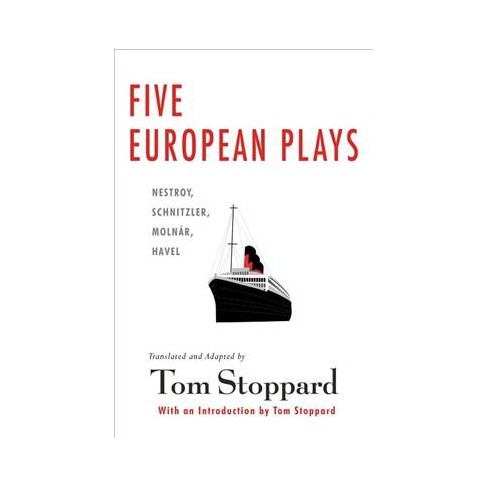 Five European Plays By Tom Stoppard Paperback Target