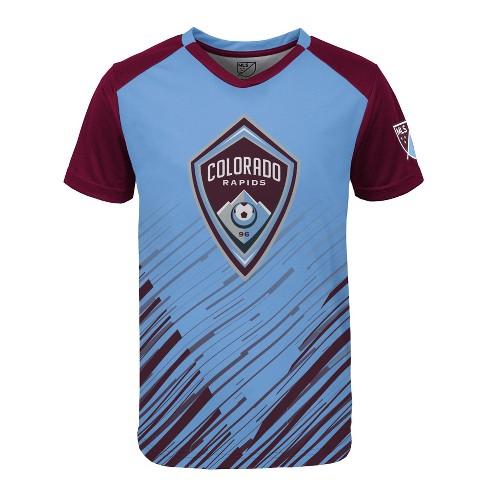 a26480b2298 MLS Boys Poly Jersey Colorado Rapids : Target