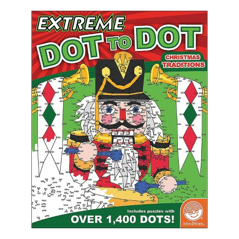 MindWare Extreme Dot To Dot: Christmas Traditions - Brainteasers - image 1 of 3
