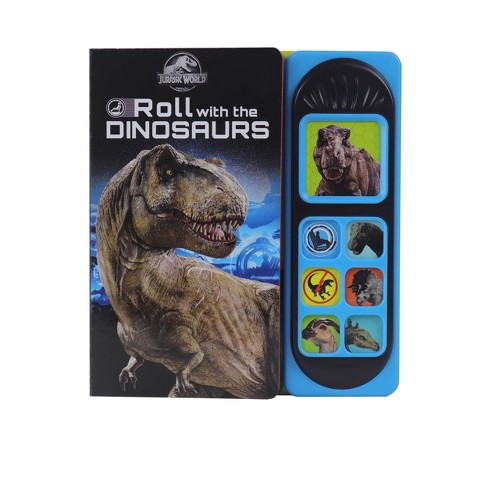 Jurassic World Roll With The Dinosaurs - Little Sound (Board Book) - image 1 of 4