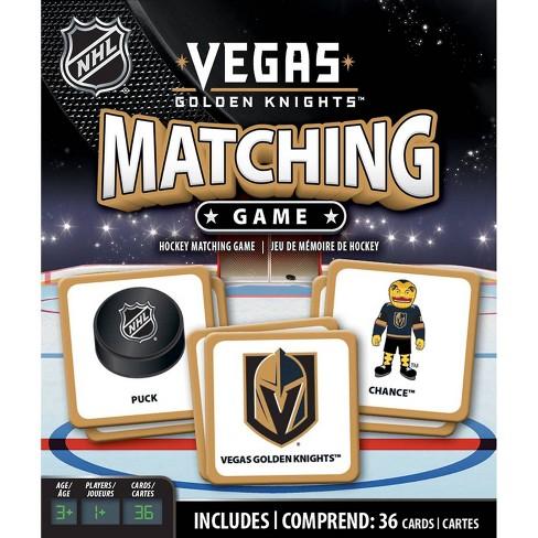 NHL Vegas Golden Knights Matching Game - image 1 of 3