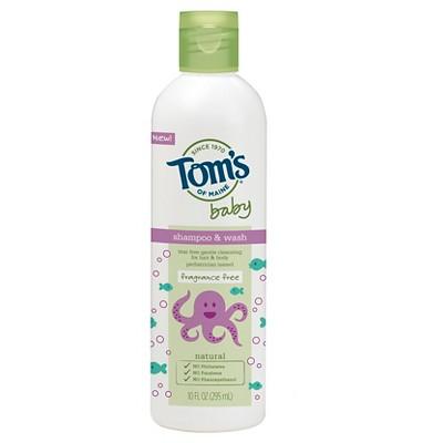 Tom's of Maine 10oz Baby Shampoo & Bodywash - Fragrance Free