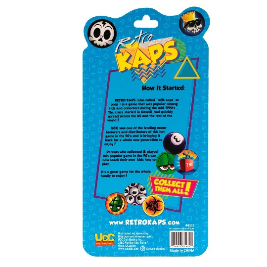 Retro Kaps Booster Pack, game accessories image number null