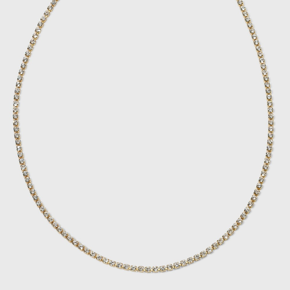 SUGARFIX by BaubleBar Crystal Baguette Collar Necklace -