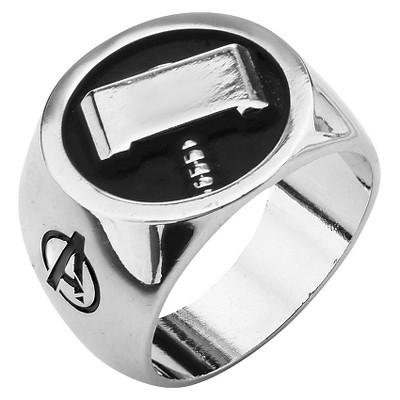 Men's Marvel® Avengers Stainless Steel Thor's Hammer Ring