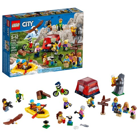 Lego City Town People Pack Outdoor Adventures Target