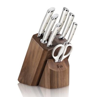 Cangshan Cutlery S1 Series 8pc Block Set