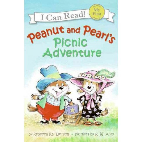 Peanut and Pearl's Picnic Adventure - by  Rebecca Dotlich (Paperback) - image 1 of 1
