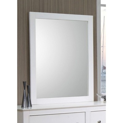 Sienna Dresser Mirror White - Private Reserve