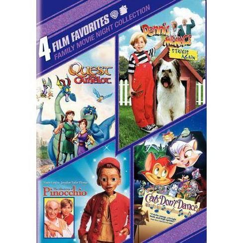 4 Film Favorites: Family Movie Night (DVD) - image 1 of 1